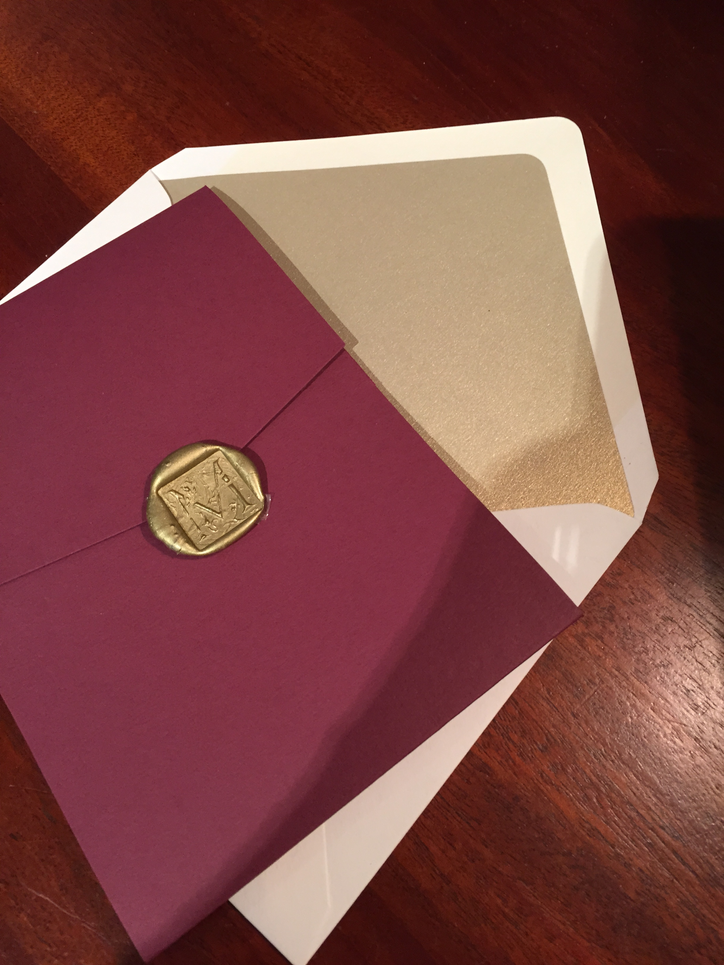 wax monogram seal – After A While Crocodile