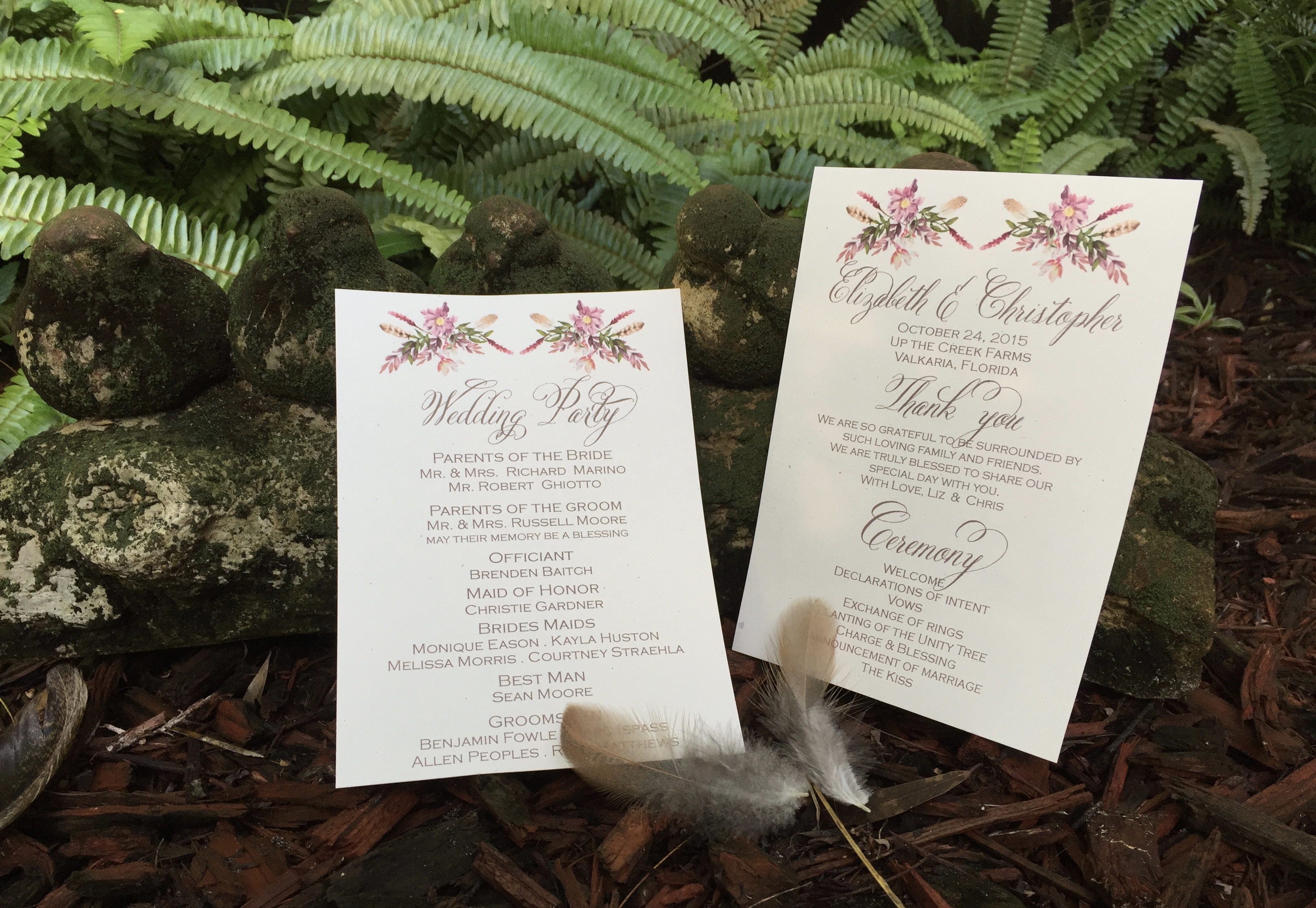 Elizabeth & Christopher Woodlands Wedding October 2015 Up
