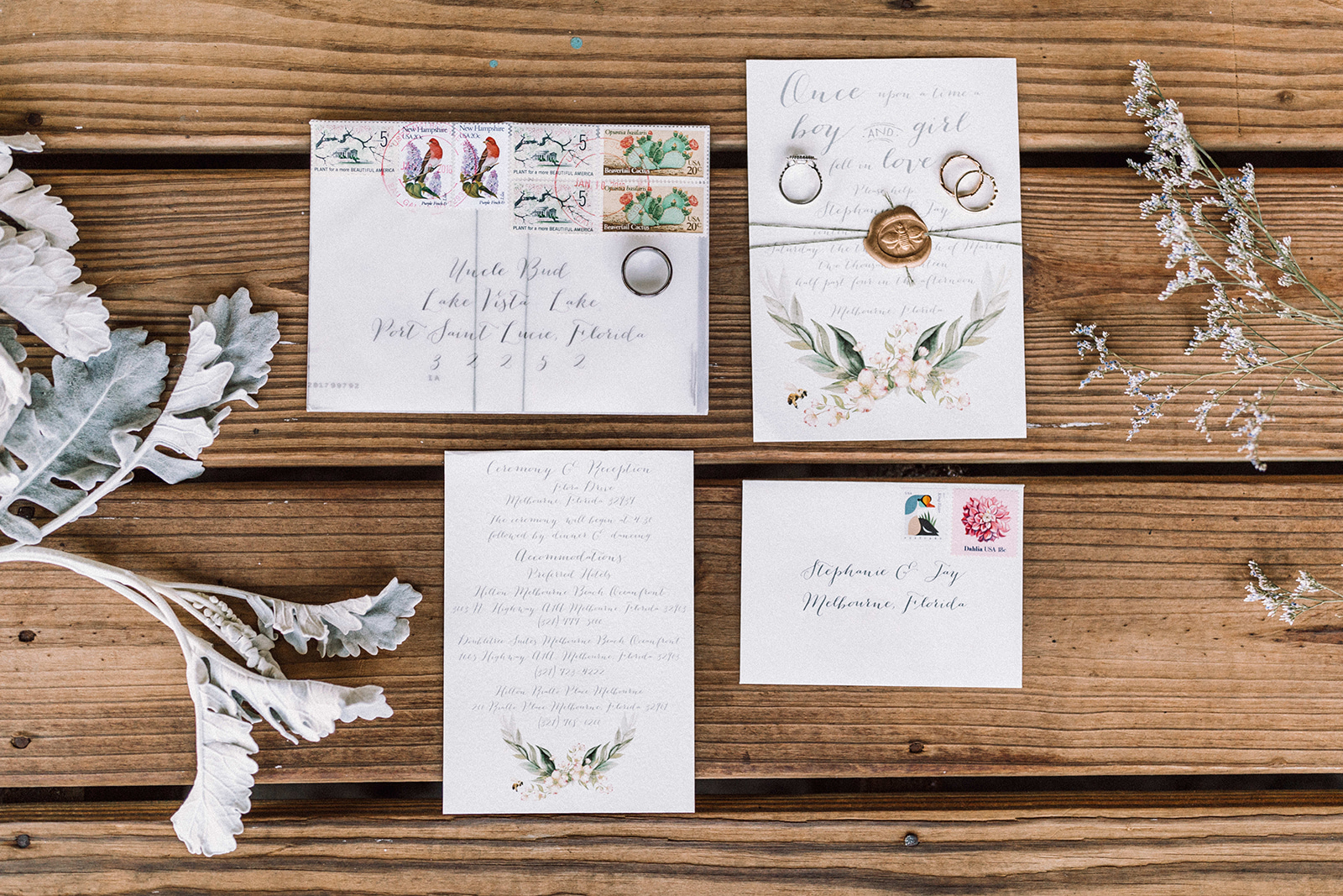 Vintage Garden Party Inspired Backyard Wedding_ Melbourne_ Florida- Jay+Stephanie-90